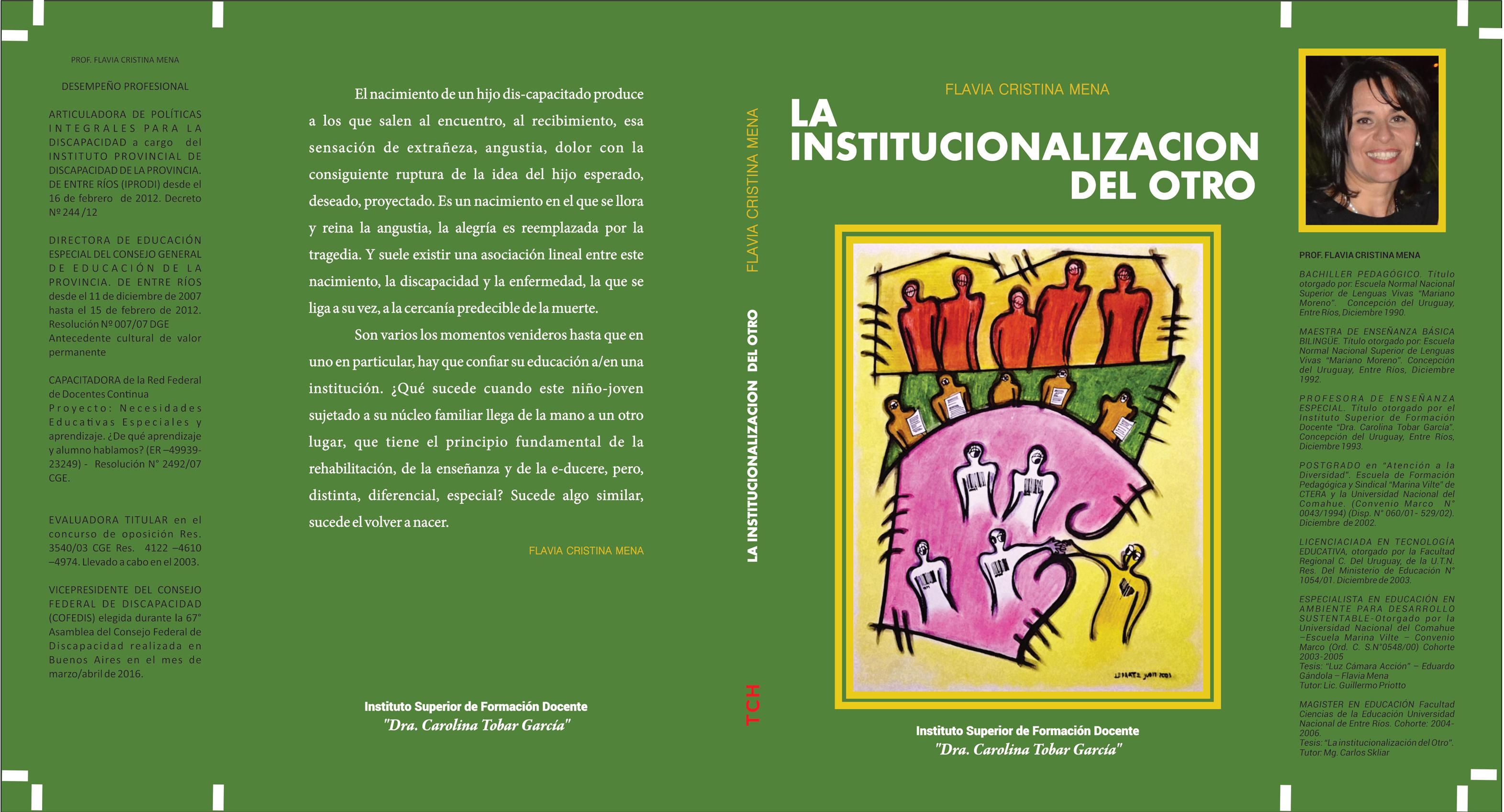 la institucionalizacion del otro